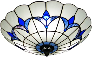 Best flush mount tiffany style ceiling lights Reviews