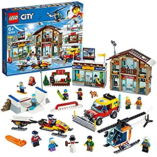 LEGO 60203 City Ski Resort with Helicopter, Snowplow Truck, Snowmobile and 2 Buildings, Winter Set (B07NZ6NBQW)   Amazon price tracker / tracking, Amazon price history charts, Amazon price watches, Amazon price drop alerts
