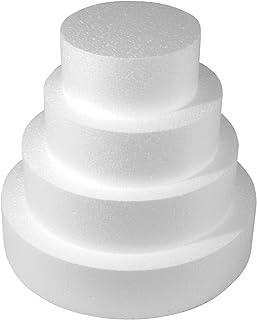 comprar comparacion Rayher Artículo de poliestireno, Blanco, 15 x 7 cm
