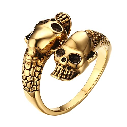 Gold Snake Ring: Amazon.com