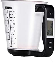 YYGIFT Digital Measuring Cups Scale Cups with LCD Display Kitchen Food Volume Weight Measurement Tool