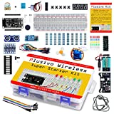 Plusivo Wireless Super Starter Kit - Complete Wireless Starter Kit for Programming and Development - Includes a Development Board (Compatible with Arduino IDE) - A Beginner's Inventor Kit Title