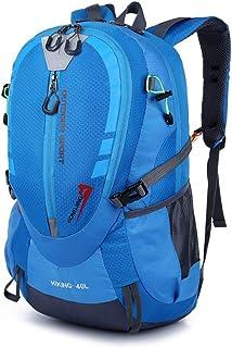 Mochilas de Senderismo Mochilas artículo Ligero Mochila 40L resistente al agua que va de excursión Mochila ultraligera poco voluminoso equipaje de mano unisex al aire libre Adecuado Para Viajar,Cazar,