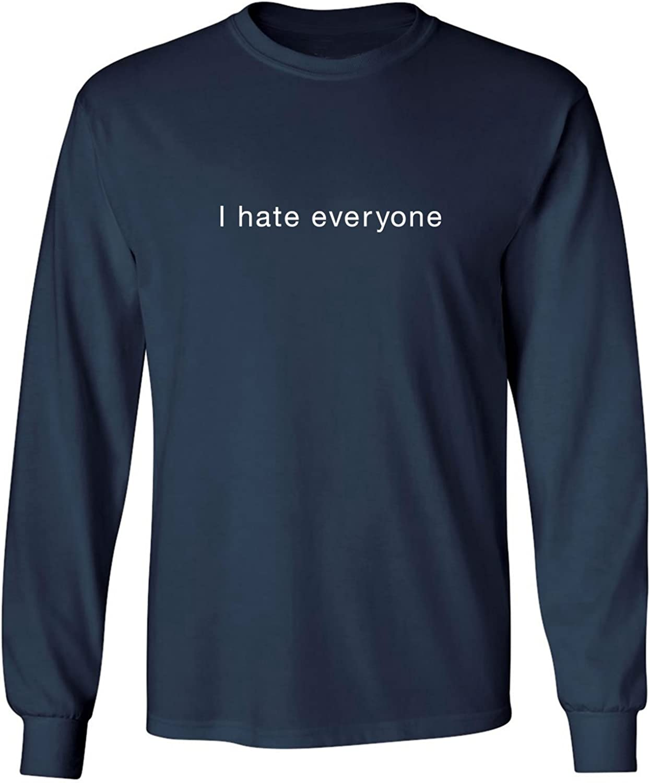 zerogravitee I Hate Everyone Adult Long Sleeve T-Shirt