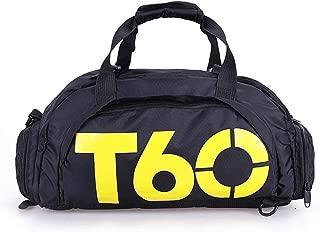 mymerlove Waterproof Sports Fitness Travel Luggage Shoulder Handbag for Men Women