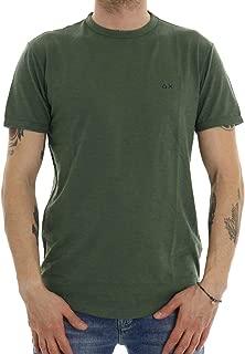 Sun68 Felpa Maglia Uomo Col Verde militare tg S-44 /% OCCASIONE