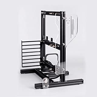 قاب شاسی باز Bracket Fixing Frame Mining Rig Case Frame Holder Aluminium Case Frame Frame Chassis Rack Good Heat Dissipation USA (مشکی)