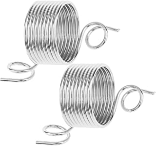 IPOTCH 2 Pieces 1,5cm Knitting Hat, Thread Guide, Thimble, Finger Guard, Finger Ring, Metal