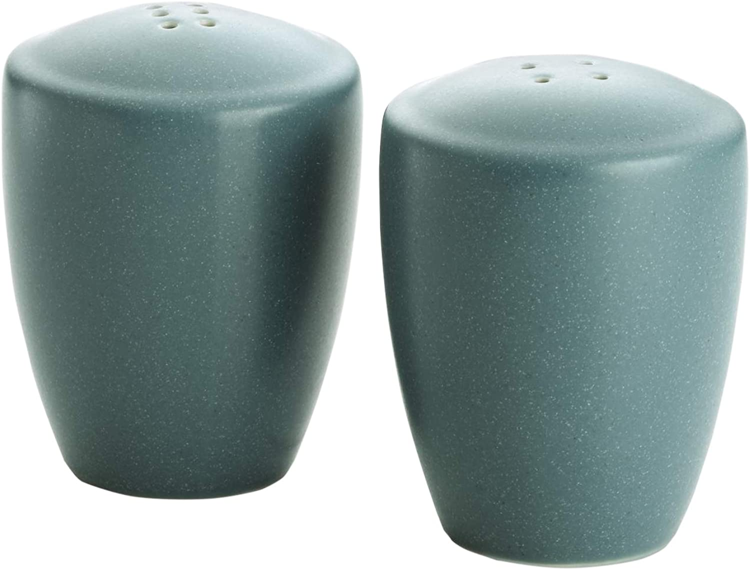 Noritake colorwave Salt and Pepper, Turquoise