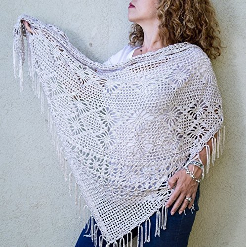 Crochet shawl and wrap