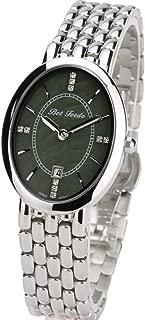 BETFEEDO Women's Dress Watch Oval Rhinstone Analog Quartz Watch