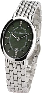 BETFEEDO Women's Dress Watch Oval Rhinstone Analog Quartz Watch
