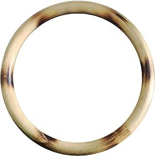 ZooBoo Wing Chun Rattan Ring - Natural Wood Rings Wing Tsun Kung Fu Wrist Hand Strength Training Equipment Yewen Sau Sticky IP Man Siu Lum Kung Fu Rings - Rattan 9 inch