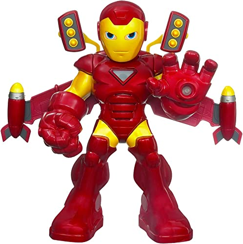 Iron Man 2 Mega Power Action Figure - Rocket Boost