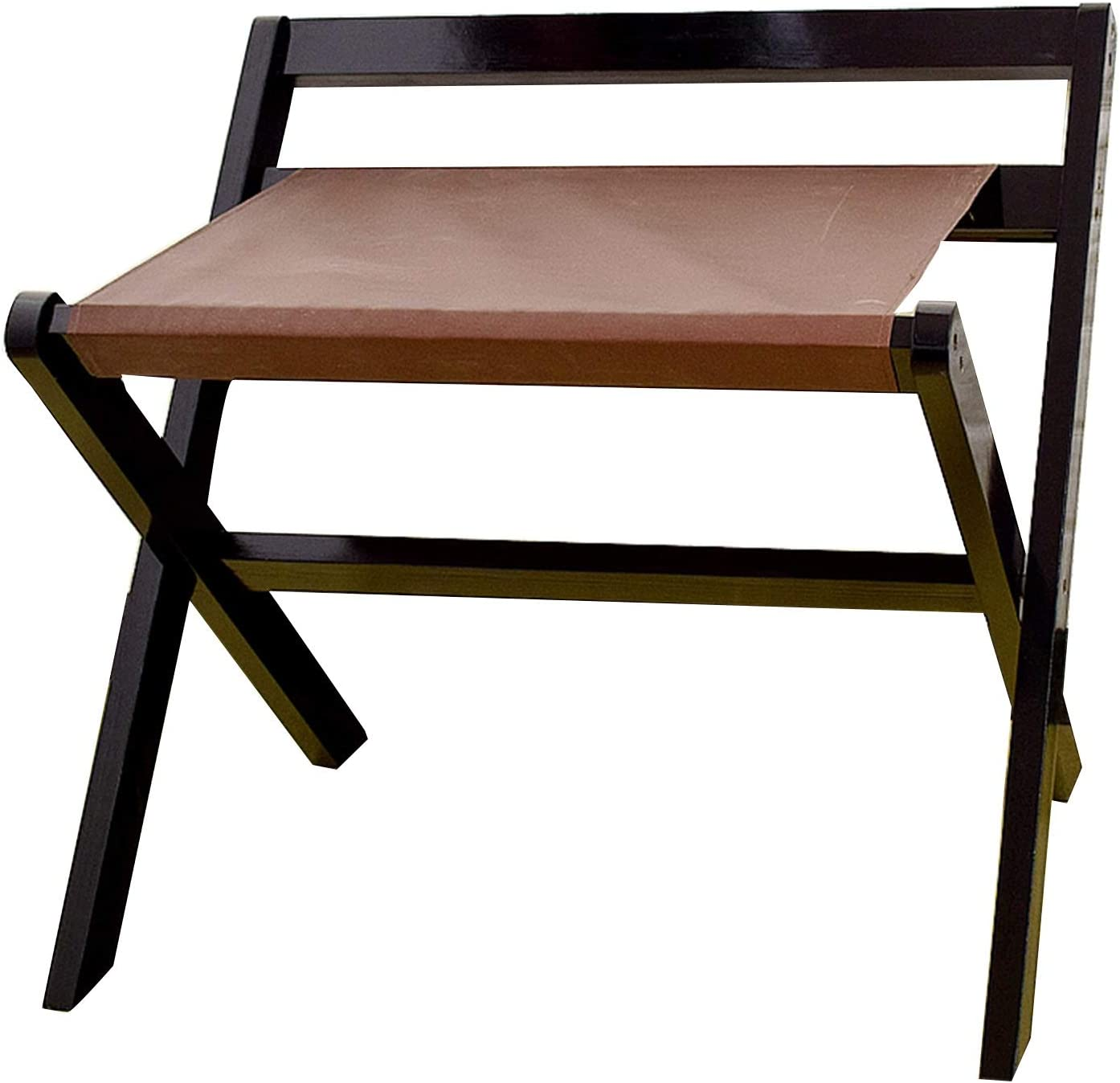 BAIYING Luggage Rack Wooden Special sale item Shelf Backr Popular products Durable Sturdy with and