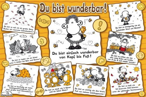Ravensburger 15494 Sheepworld Du bist wunderbar
