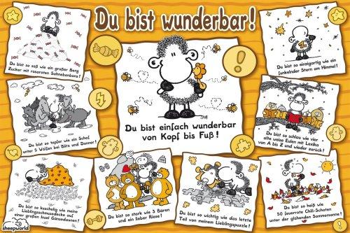 Ravensburger 15494  - Mundo ovejas: maravillosamente - 1000 Rompecabezas Pieza