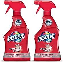 Resolve Carpet Cleaner Spray, Spot & Stain Remover, 22 oz (Pack of 2)
