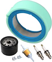 HIPA Air Filter/Pre Cleaner Fuel Filter Tune Up Kit for John Deere GT235 GT235E LTR166 LT166 LT170 LX288 SST16 SST18 Lawn Mower