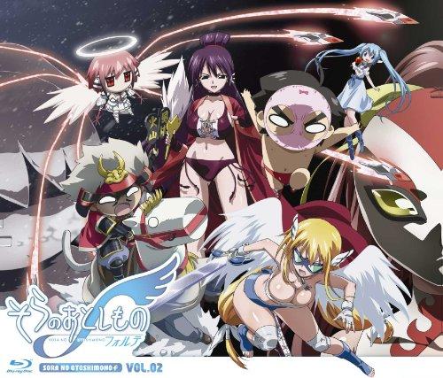 Sora no Otoshimono f (Forte) Vol.2 [Blu-ray+CD]
