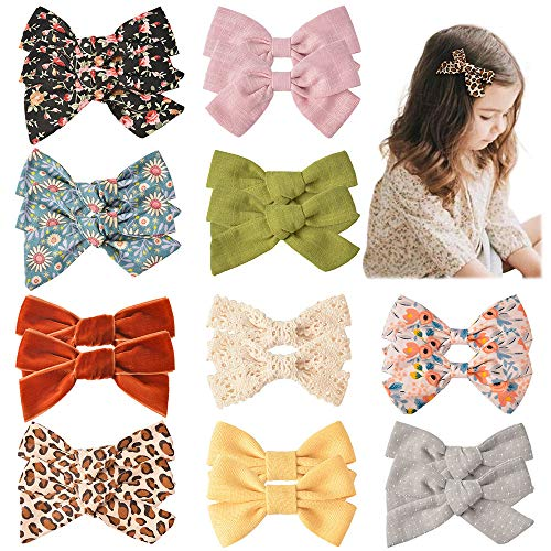 (50% OFF) 20 Pcs Girls Hair Bows $8.00 – Coupon Code