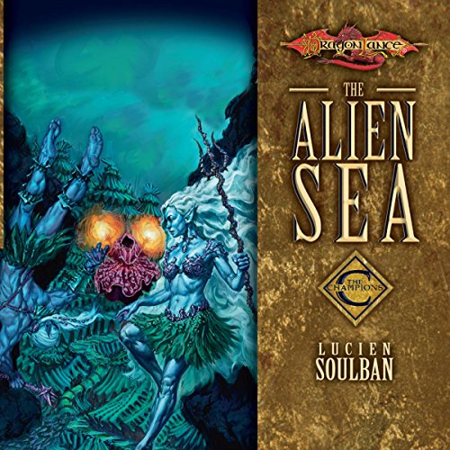 The Alien Sea audiobook cover art