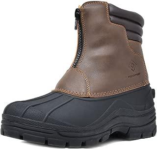Men's Insulated Waterproof Winter Snow Boots