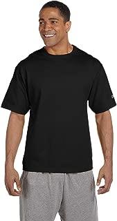Champion 7 oz Cotton Heritage Jersey T-Shirt in Black - X-Large