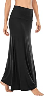 American Trends Womens Maxi Skirts Long Skirt for Women High Waist Maxi Dresses