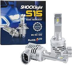 Par de Lâmpada Led do Farol H27-Nano S15-4200 Lumens 6000K 12V 40W Shocklight - SLL-150027