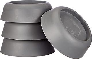WENKO Trillingsdempers set van 4 - set van 4, thermoplast, 4,5 x 2 x 4,5 cm, grijs