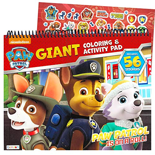 Bendon Publishing Paw Patrol Coloring and Activity Giant Floor Pad -- Jumbo Paw Patrol Coloring Book (Paw Patrol Party Pack)