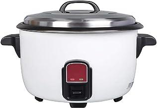 Roestvrij staal elektrische rijstkoker 25L Warmhoudfunctie, Premium-Quality Inner Pot, met Spatel, rijst for maximaal 50 p...