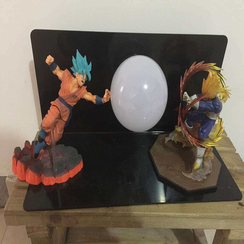 Dragon Ball LightAnime Dragon Ball um Sun Wukong Vitalitt Kugel LED Auge Lampe Dekoration Modell Tischlampe, M