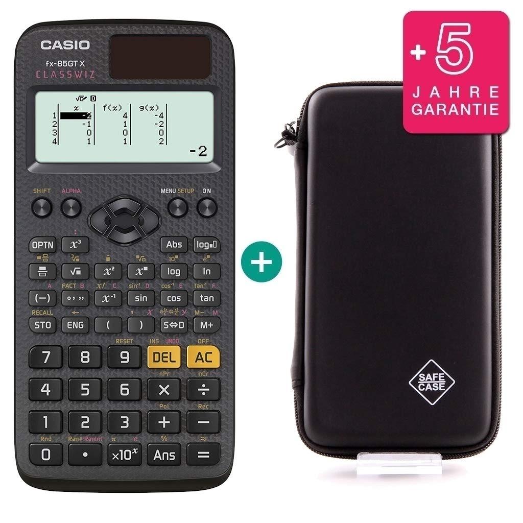 Casio FX 85 GT X + Protective Case + Prime Warranty: Amazon.es ...