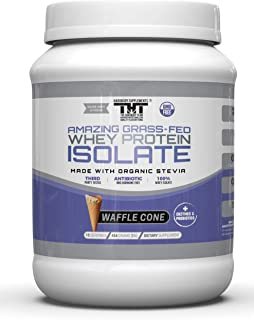 Amazing Grass Fed Whey Protein Powder. The Finest Protein Shake for Healthy Gut, Digestive Health, Optimal Absorption of N...