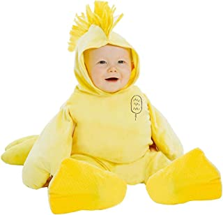 Deluxe Charlie Brown Woodstock Toddler Costume