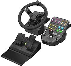 Logitech G Saitek Farm Sim Controller para PC - Sistema de control para simuladores, negro