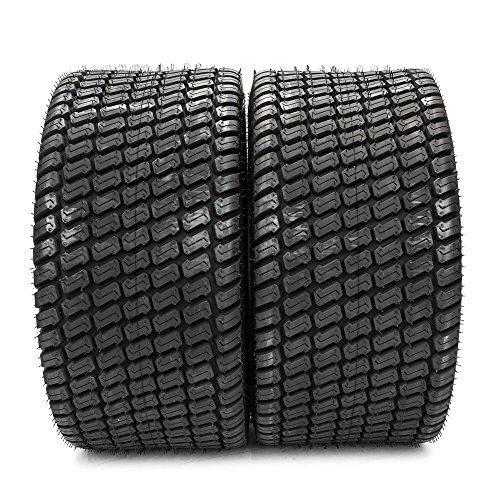 2Pcs New 4PLY 24x12.00-12 Tires 24x12x12 P332 Turf Lawn Mower Tires