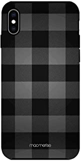 Macmerise IPCIXMTMI0344 Checkmate Black - Tough Case for iPhone XS Max - Multicolor (Pack of1)