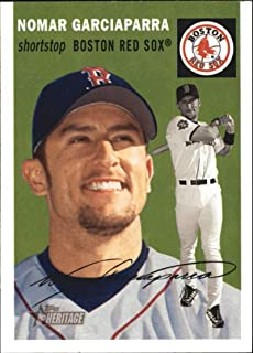 2003 Topps Heritage #100a Nomar Garciaparra Red Sox MLB Baseball Card NM-MT