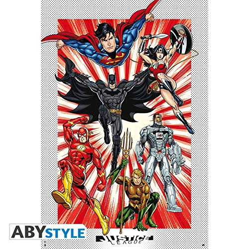 ABYstyle – DC Comics – Poster Justice League (91,5 x 61)