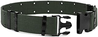 OLEADER Tactical Belt Military Utility Nylon Belt Combat Security Rigger Waist Belt Heavy Duty for Outdoor Hunting Army Survival