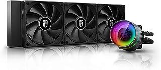 DEEPCOOL Castle 240EX, enfriador líquido para CPU direccionable RGB AIO negro