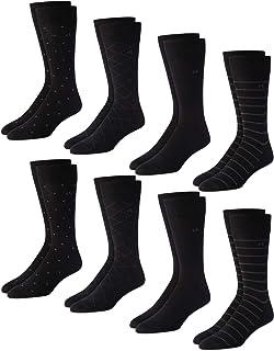 Men's Socks – 8 Pack Mid-Calf Patterned Socks
