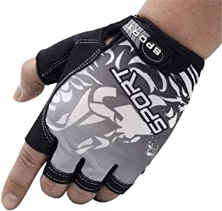 Outer Realm Fishing Gloves Fingerless for Men & Women UV Protection Kayaking Paddling Cycling Hiking