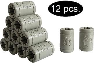 Igus - Set de cojinetes de deslizamiento para reemplazar los LM8UU de una impresora 3D RepRap, Mendel, Anet A6y A8 oPrusa i3, Anet A8 LM8UU Ersatz, 12 x RJ4JP-01-08 (Igus DryLin®), 1