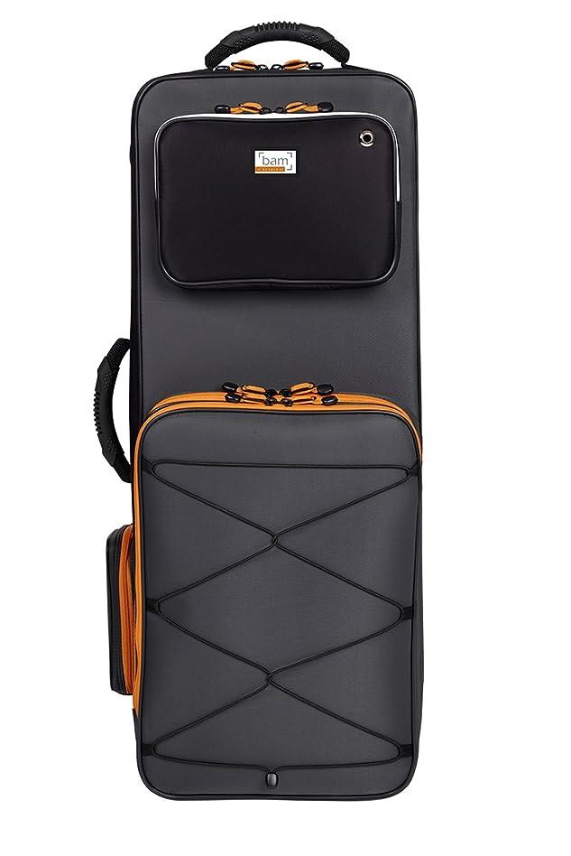 文庫本モッキンバードバックアップバム Bam テナーサクソフォン用ケース 【PEAK】 カラー:ブラック&グレー PEAK3022SN