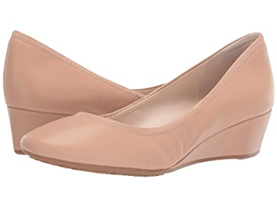 Cole Haan 40 mm G.OS Sadie Wedge (Nude Leather) Women
