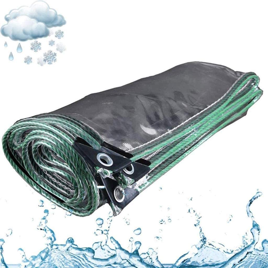 ZGQ Fixed price for sale 3X3m 10x10ft Premium Transparent Tarpaulin Waterproof Tarp Max 73% OFF